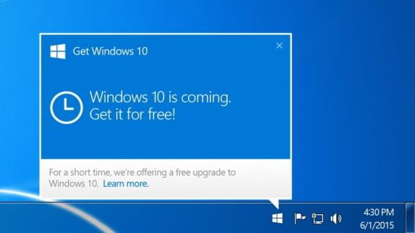 微软正式从Windows7/8.1移除GWX升级应用的照片
