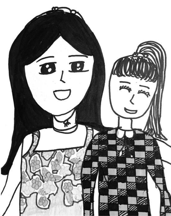 浙江9岁女孩画胃癌妈妈 一张都让人看得想哭……