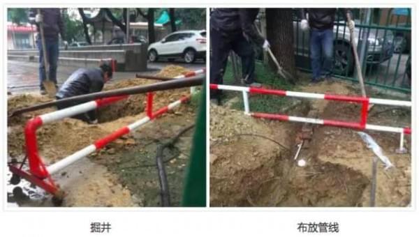 中国移动首发:一次完整的井盖基站建设全过程的照片 - 6