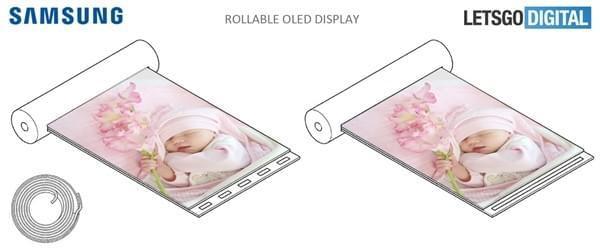 """逆天OLED!三星""""卷面屏""""新专利曝光"""