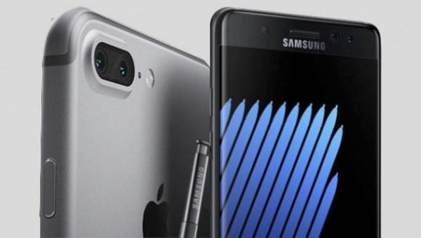 iPhone 7和三星Note 7屏幕实测 究竟谁最好?的照片 - 1