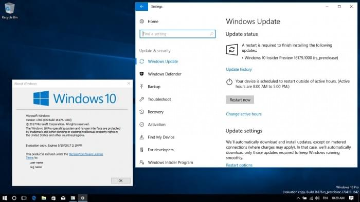Win 10 Build 16179发布:新增节电功能和VM设置选项的照片 - 1