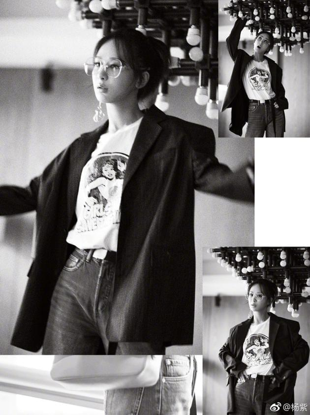 杨紫出道十年录感恩粉丝:一起走过下个十年