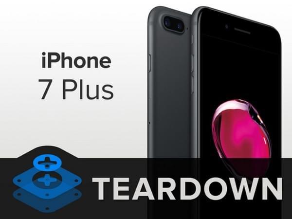 iPhone 7 Plus拆解:2900mAh容量电池的照片 - 1