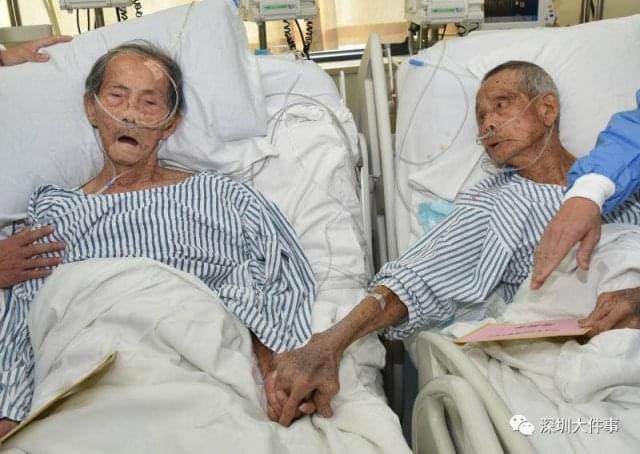他们曾并肩抗日 阔别20多年在病房偶遇