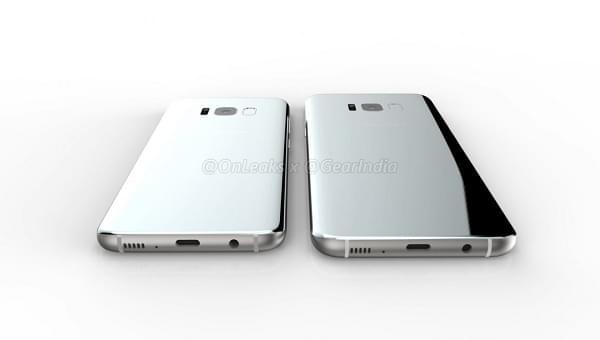 三星 Galaxy S8 / S8 Plus 渲染图曝光: 指纹传感器在哪?的照片 - 8
