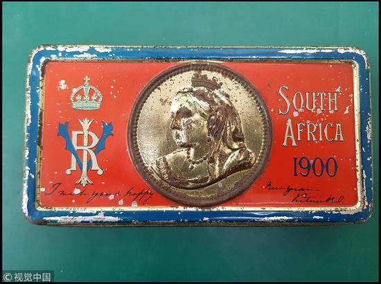 英国将拍卖古董巧克力为118年前女王的争议礼物