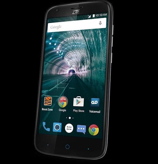 5英寸显示屏zte warp 7智能手机