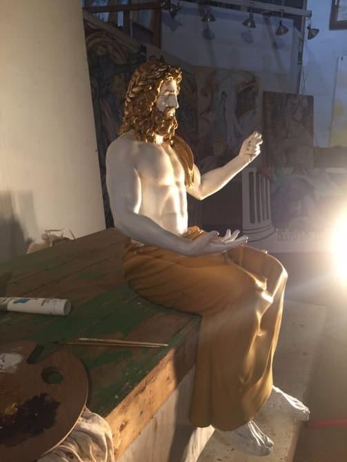 博物馆将展出3D打印宙斯神像复制品