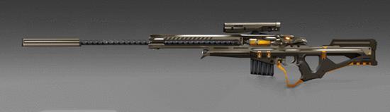《逆战》鹰王MSR武器测评 版本最强狙击自带透视