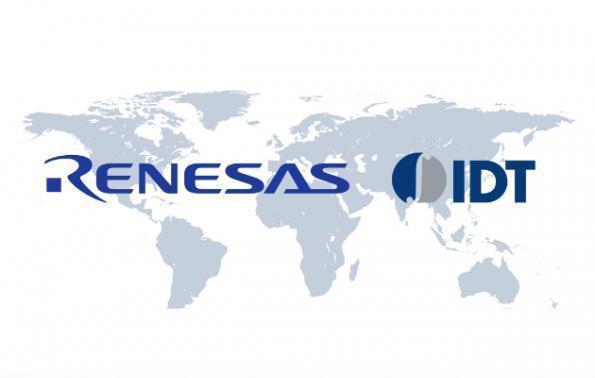 瑞萨电子将以约67亿美元收购IDT,加码汽车芯片市场