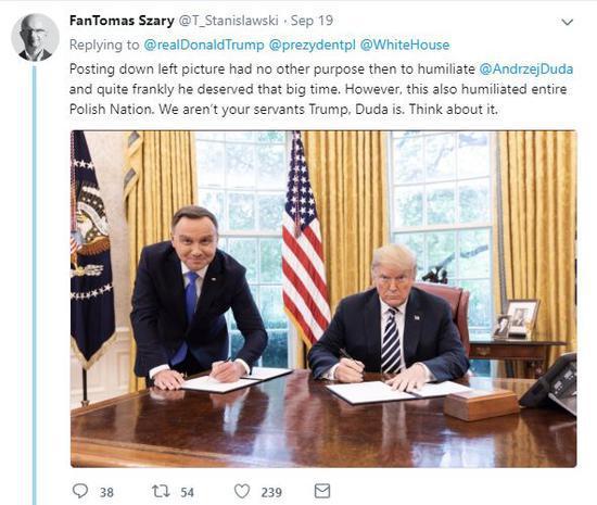 波兰总统花20亿请美建军事基地 因一张照片被群嘲
