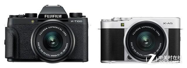富士发布X-A5与X-T100新固件:加入新款滤镜