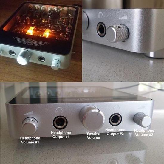 不只有高颜值 ims桌面级音频放大器