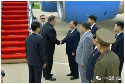 美国国务卿蓬佩奥6日抵达朝鲜(资料图)