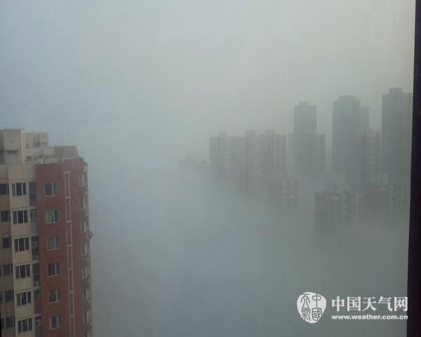 华北黄淮将再陷霾伏 东北迎今冬首场雪