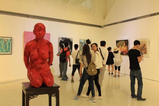 """""""归途""""——当代艺术家蔚县之行邀请展现场"""