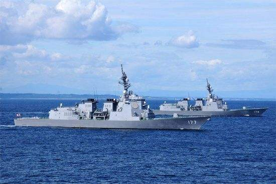 日舰参加韩阅兵拟挂旭日旗 韩国军方竟说管不了