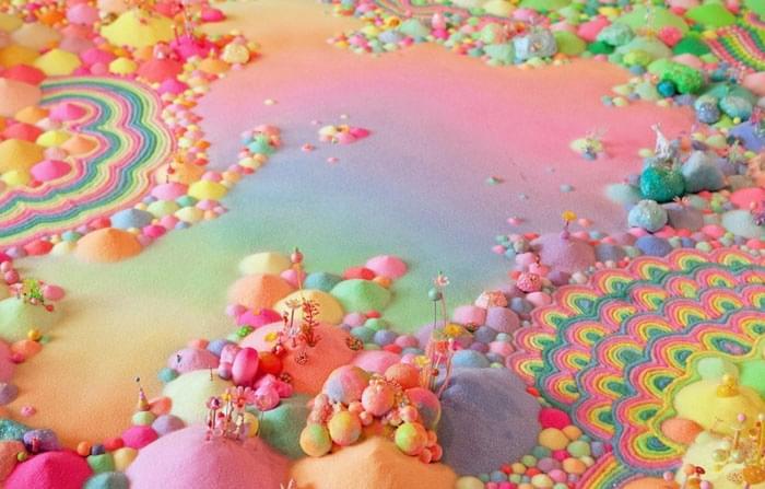 领略五彩缤纷的糖果世界