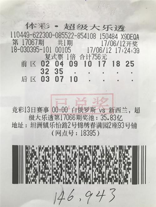 20人合伙买中14万大奖 得主露脸晒支票(图)
