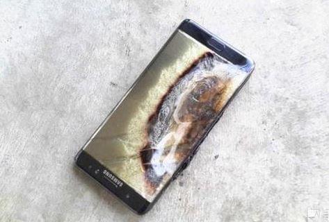 国行Note 7首炸爆料人回应三星声明:造谣请告我的照片 - 1