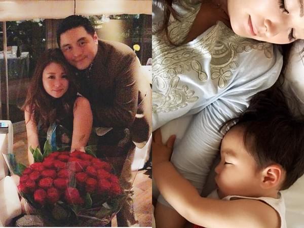 日女星嫁台湾富商疑婚变 被曝悄悄带儿子回日本