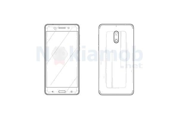 HMD Global获Nokia 6外观设计专利