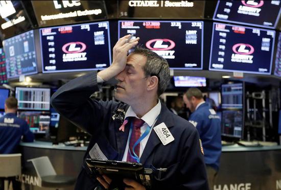美股道指一天下跌超过600点 科技股本月领跌7%