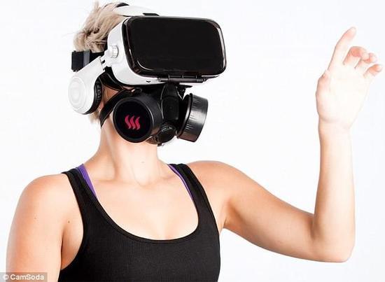 专为色情VR而生 视听嗅全面满足你的幻想