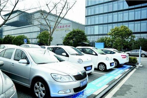 共享汽车在武汉缓慢起步 9元就能开汽车的照片 - 3
