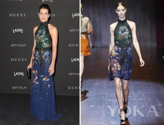 夏洛特公主 in Gucci Spring/Summer 2015 Collection