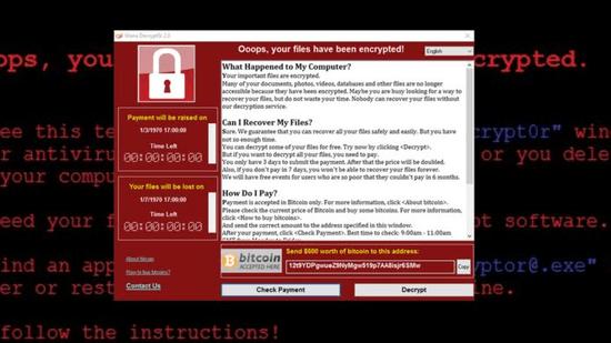 电脑勒索病毒让99个国家地区中招 究竟是谁干的的照片