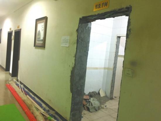 四川内江试水共享厕所开放98家沿街机关单位厕所