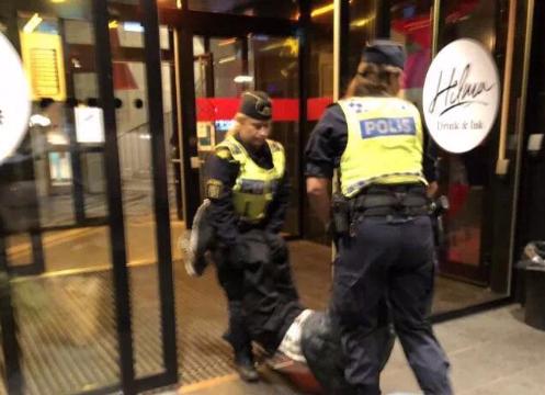 游客遭粗暴对待 外交部:瑞典警方做法不符外交惯例