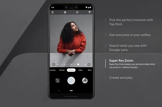 谷歌Pixel 3/3 XL评测:为AI打Call,拍照吊打苹果