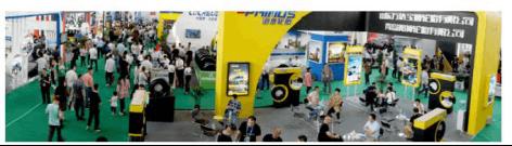 第八届中国(广饶)轮胎汽配展合同额约166个亿1