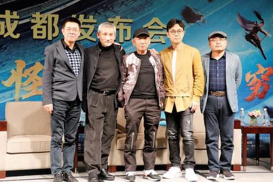 """《奇门遁甲》提档明日上映 徐克袁和平要打造""""中国版超级英雄"""""""