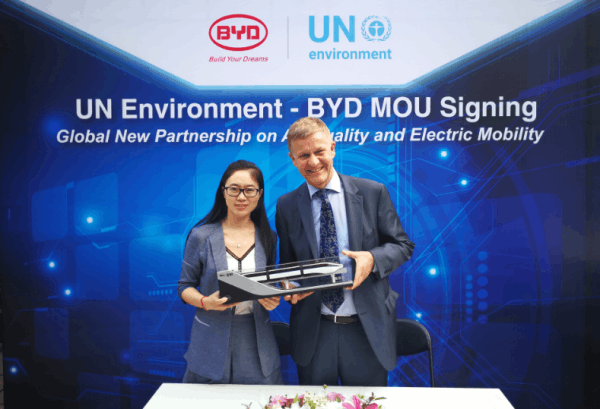 BYD's e-bus to hit the roads in Egypt