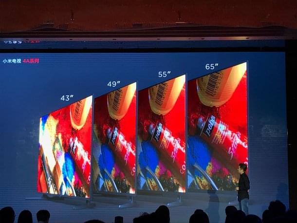 价格屠夫再临:小米电视4A正式发布 最低2099元起的照片 - 2