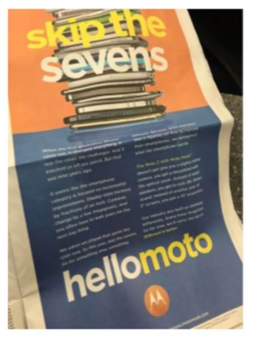 Moto打广告嘲讽苹果:不再是一个冒险者的照片 - 4