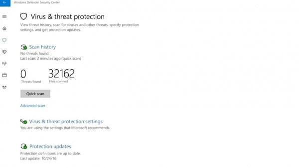 Windows Defender安全中心亮相:全方位保护你的电脑的照片 - 2