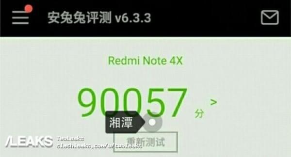 红米Note 4X渲染图和跑分数据曝光:指纹仍位于背面的照片 - 2