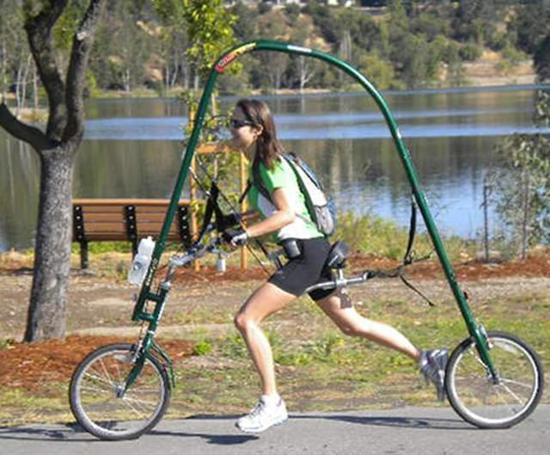 """骑行还是跑步?不妨来试试这款自行""""跑车"""""""
