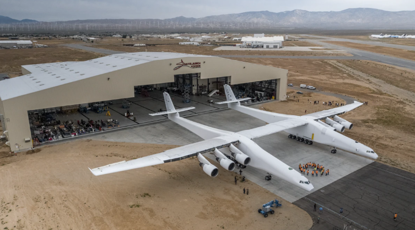 全球最大飞机完成滑行测试 可艾伦没法看见它起飞