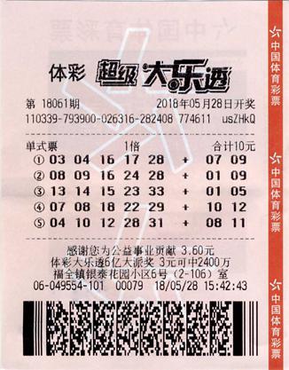 研究大乐透十年 他用偏爱号码中3435万