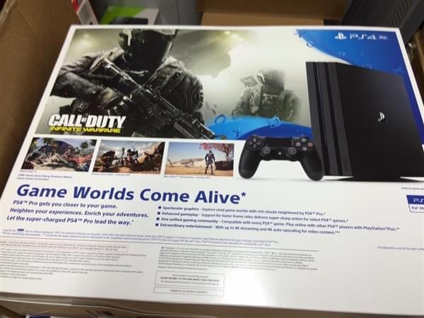索尼PS4 Pro包装盒曝光的照片 - 2