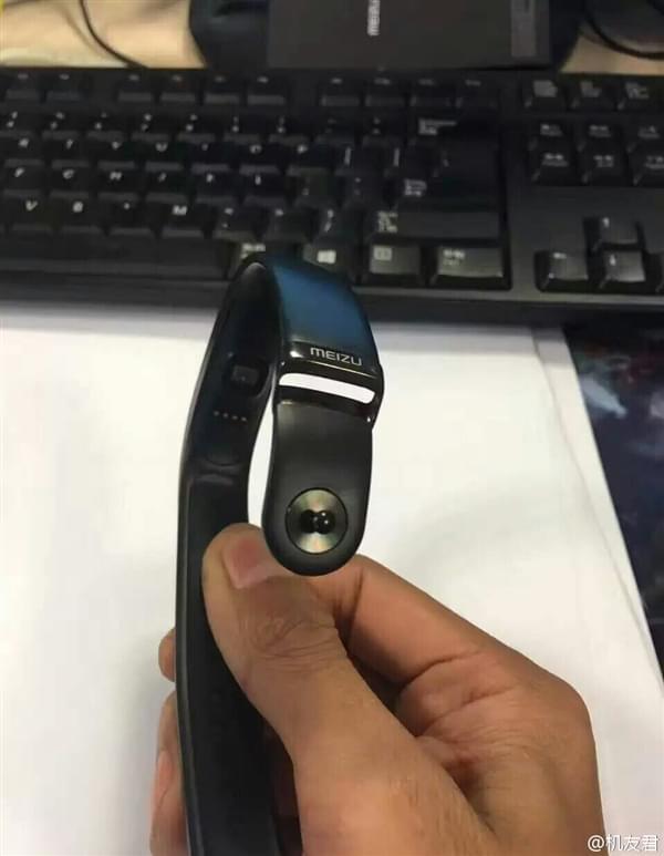 魅族手环真身首曝光:带屏显/心率监测的照片 - 3