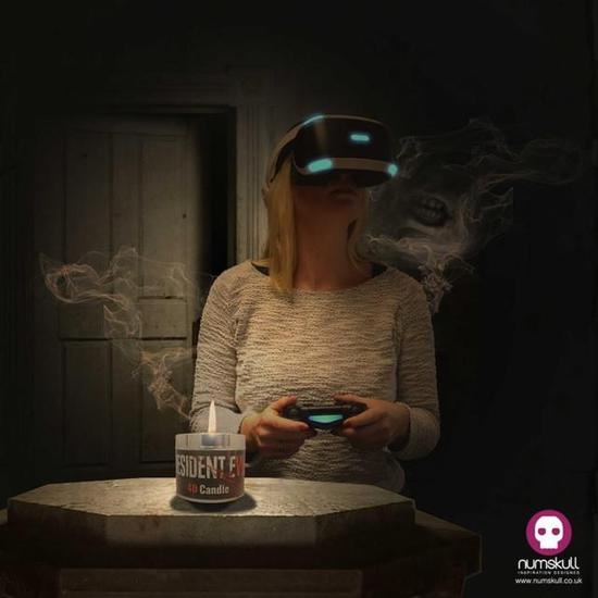 《生化危机7》4D蜡烛 实在是太难闻了