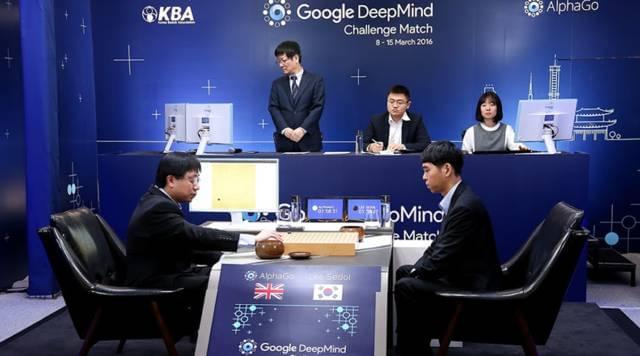 AlphaGo 对阵李世石