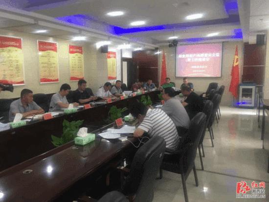 省督查组来湘西州督查指导食用农产品质量安全监管工作